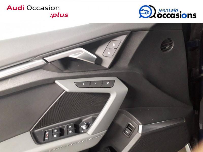 Audi A3 Sportback A3 Sportback 35 TFSI 150 S Line 5p Bleu occasion à Échirolles - photo n°19