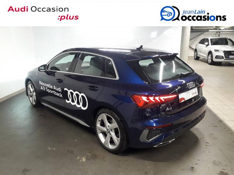 Audi A3 Sportback A3 Sportback 35 TFSI 150 S Line 5p Bleu occasion à Échirolles - photo n°7