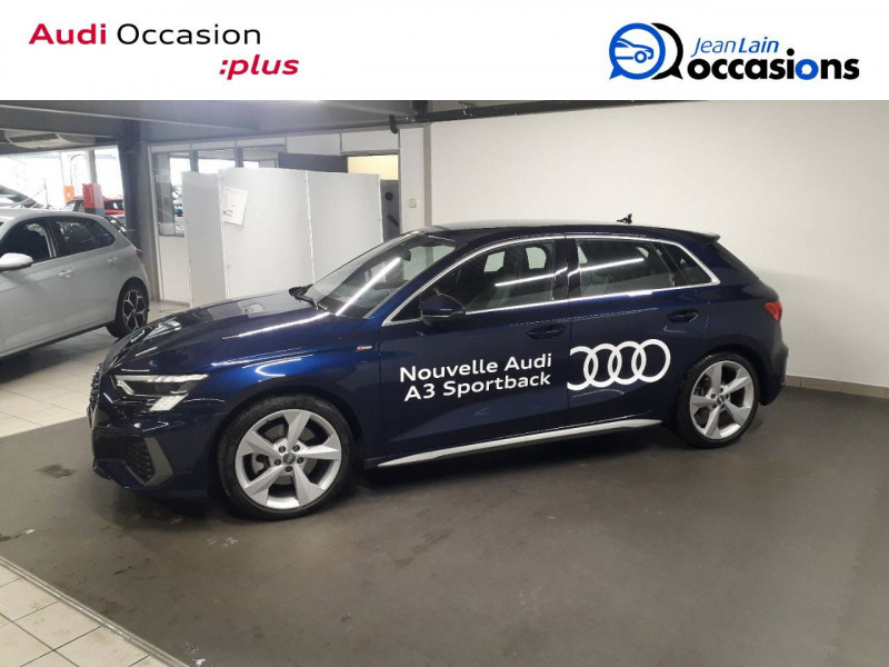 Audi A3 Sportback A3 Sportback 35 TFSI 150 S Line 5p Bleu occasion à Échirolles - photo n°8