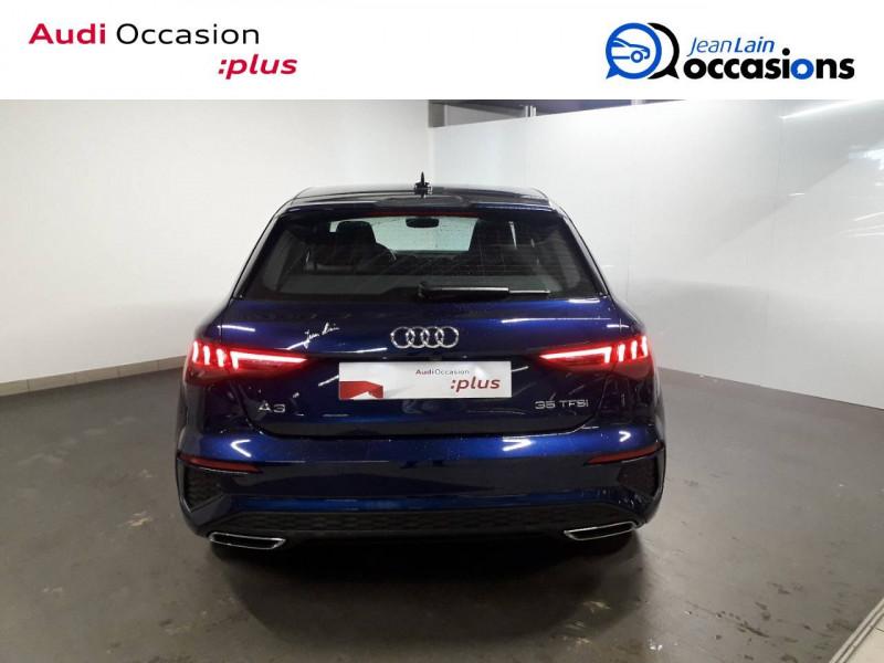 Audi A3 Sportback A3 Sportback 35 TFSI 150 S Line 5p Bleu occasion à Échirolles - photo n°6