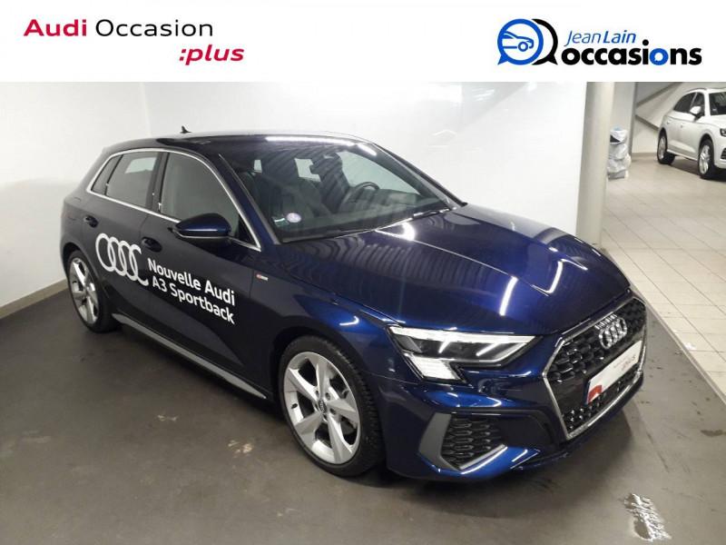 Audi A3 Sportback A3 Sportback 35 TFSI 150 S Line 5p Bleu occasion à Échirolles - photo n°3