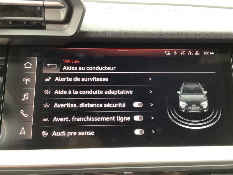 Audi A3 Sportback A3 Sportback 35 TFSI 150 S line 5p  occasion à Échirolles - photo n°20