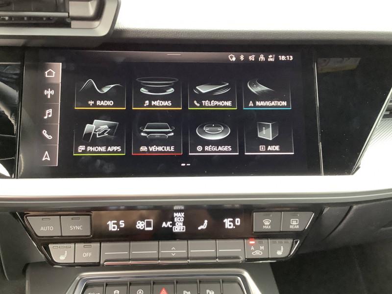 Audi A3 Sportback A3 Sportback 35 TFSI 150 S line 5p  occasion à Échirolles - photo n°13