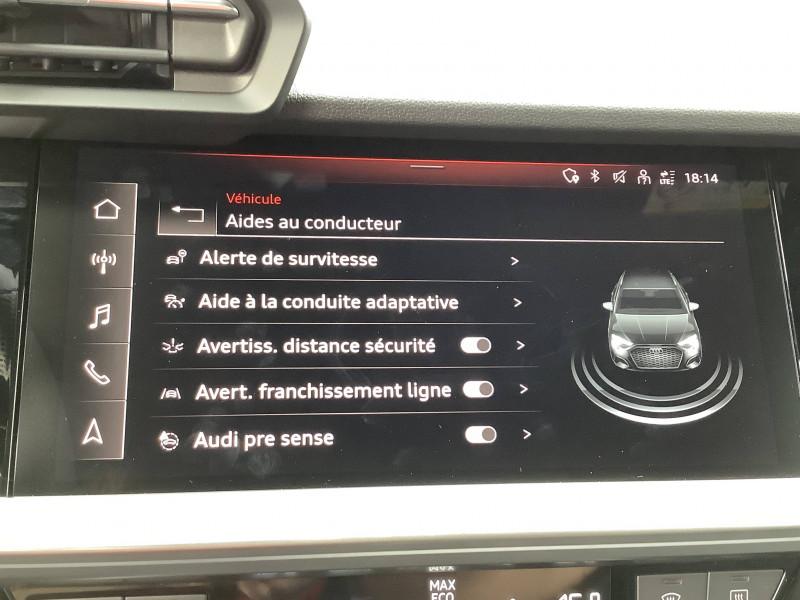 Audi A3 Sportback A3 Sportback 35 TFSI 150 S line 5p  occasion à Échirolles - photo n°19