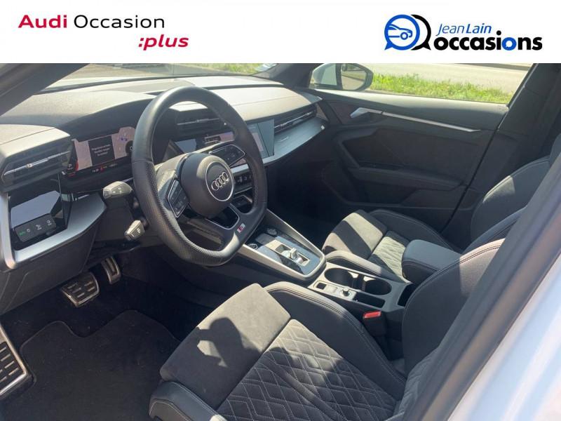 Audi A3 Sportback A3 Sportback 35 TFSI 150 S tronic 7 S Line 5p Blanc occasion à Sallanches - photo n°11