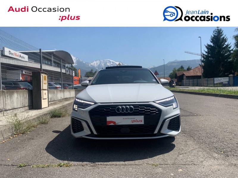 Audi A3 Sportback A3 Sportback 35 TFSI 150 S tronic 7 S Line 5p Blanc occasion à Sallanches - photo n°2