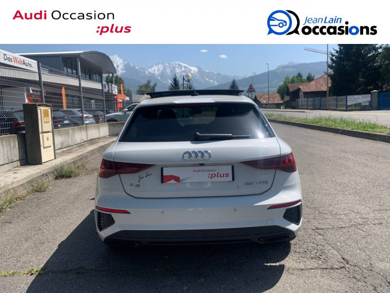Audi A3 Sportback A3 Sportback 35 TFSI 150 S tronic 7 S Line 5p Blanc occasion à Sallanches - photo n°6