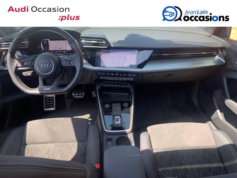 Audi A3 Sportback A3 Sportback 35 TFSI 150 S tronic 7 S Line 5p Blanc occasion à Sallanches - photo n°18