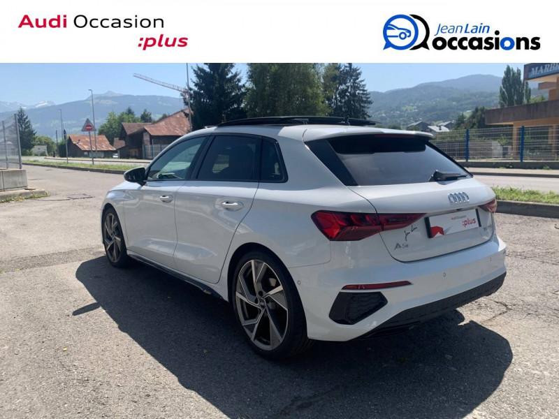 Audi A3 Sportback A3 Sportback 35 TFSI 150 S tronic 7 S Line 5p Blanc occasion à Sallanches - photo n°7