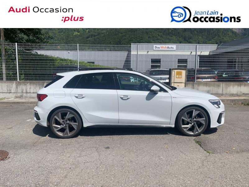Audi A3 Sportback A3 Sportback 35 TFSI 150 S tronic 7 S Line 5p Blanc occasion à Sallanches - photo n°4