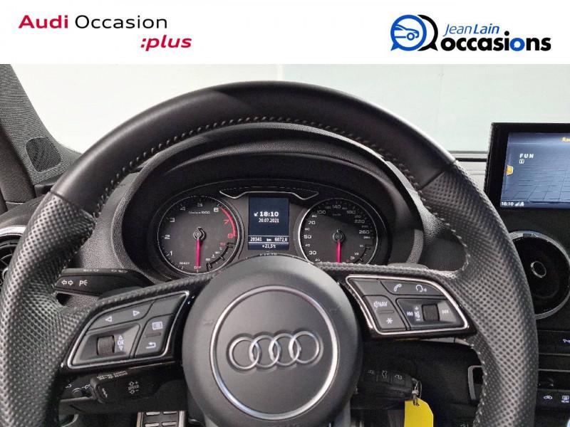 Audi A3 Sportback A3 Sportback 35 TFSI CoD 150 S tronic 7 S Line 5p Gris occasion à La Motte-Servolex - photo n°12