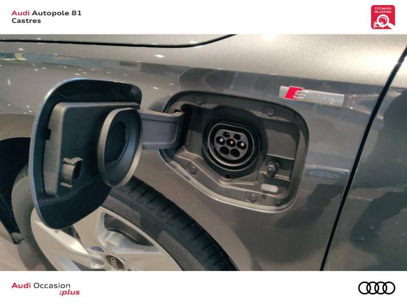 Audi A3 Sportback A3 Sportback 40 TFSIe 204 S Tronic 6 S Line 5p Gris occasion à Castres - photo n°10