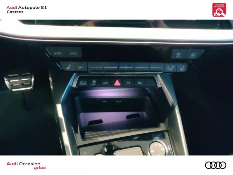 Audi A3 Sportback A3 Sportback 40 TFSIe 204 S Tronic 6 S Line 5p Gris occasion à Castres - photo n°11
