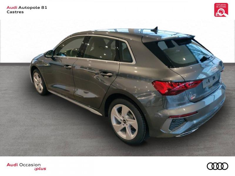 Audi A3 Sportback A3 Sportback 40 TFSIe 204 S Tronic 6 S Line 5p Gris occasion à Castres - photo n°4
