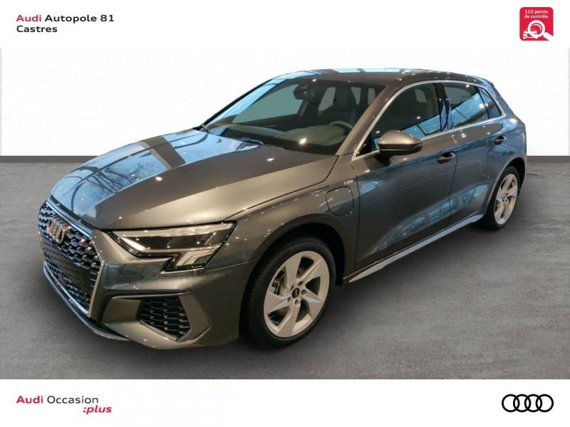 Audi A3 Sportback A3 Sportback 40 TFSIe 204 S Tronic 6 S Line 5p Gris occasion à Castres