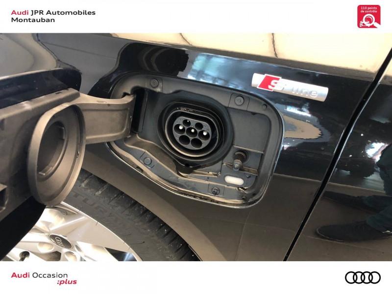Audi A3 Sportback A3 Sportback 40 TFSIe 204 S Tronic 6 S Line 5p Noir occasion à montauban - photo n°8