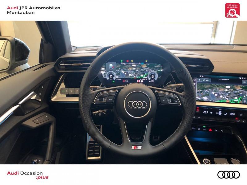 Audi A3 Sportback A3 Sportback 40 TFSIe 204 S Tronic 6 S Line 5p Noir occasion à montauban - photo n°10
