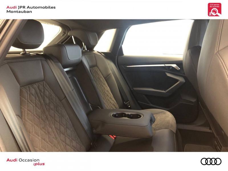 Audi A3 Sportback A3 Sportback 40 TFSIe 204 S Tronic 6 S Line 5p Noir occasion à montauban - photo n°7