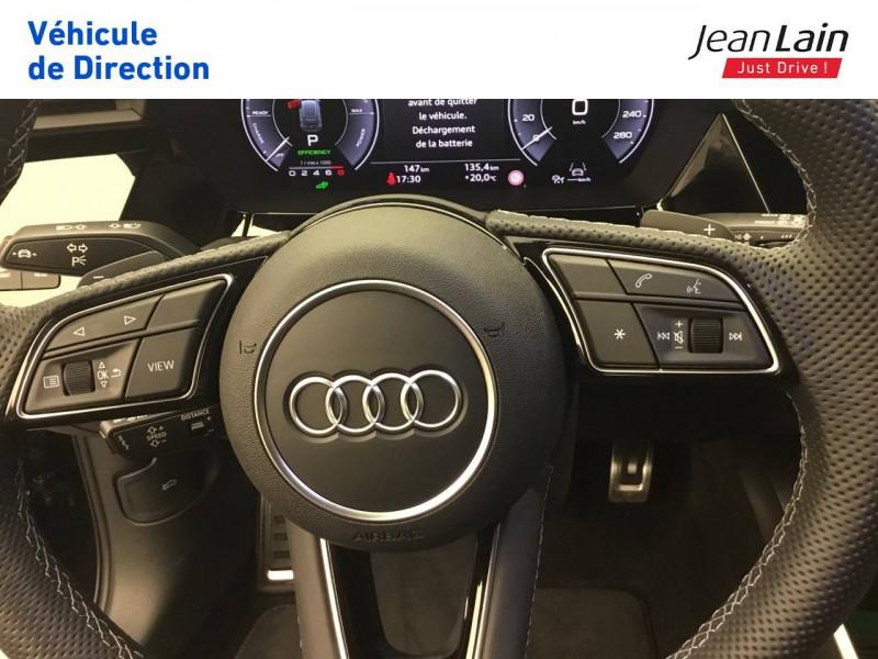 Audi A3 Sportback A3 Sportback 40 TFSIe 204 S Tronic 6 S Line 5p Noir occasion à Seynod - photo n°12