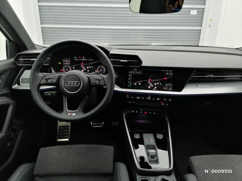 Audi A3 Sportback A3 Sportback 40 TFSIe 204 S Tronic 6S Line Blanc occasion à Brie-Comte-Robert - photo n°9