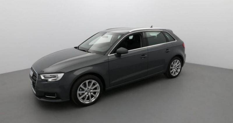 Audi A3 Sportback BVA7 DESIGN PACK QUATTRO 40 TFSI 190 CV Gris occasion à SAINTES