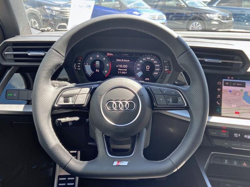 Audi A3 Sportback NEW 35 TDI 150 S TRONIC S LINE GPS Pack Esthétique Noir Blanc occasion à Montauban - photo n°13