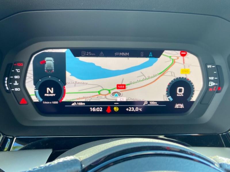 Audi A3 Sportback NEW 35 TDI 150 S TRONIC S LINE GPS Pack Esthétique Noir Blanc occasion à Montauban - photo n°18