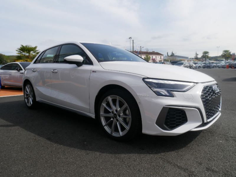 Audi A3 Sportback NEW 35 TDI 150 STRONIC SLINE Export Blanc occasion à Toulouse - photo n°9
