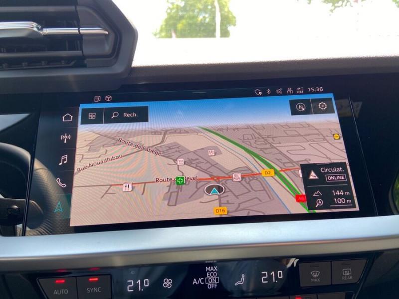 Audi A3 Sportback NEW 35 TDi 150 STRONIC SLINE GPS JA18'' Virtual Cockpit Plus Blanc occasion à Toulouse - photo n°13