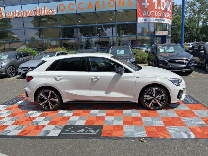 Audi A3 Sportback NEW 35 TDi 150 STRONIC SLINE GPS JA18'' Virtual Cockpit Plus Blanc occasion à Toulouse - photo n°11