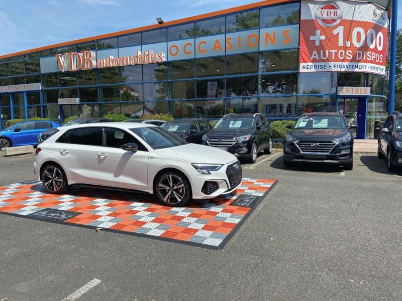 Audi A3 Sportback NEW 35 TDi 150 STRONIC SLINE GPS JA18'' Virtual Cockpit Plus Blanc occasion à Toulouse