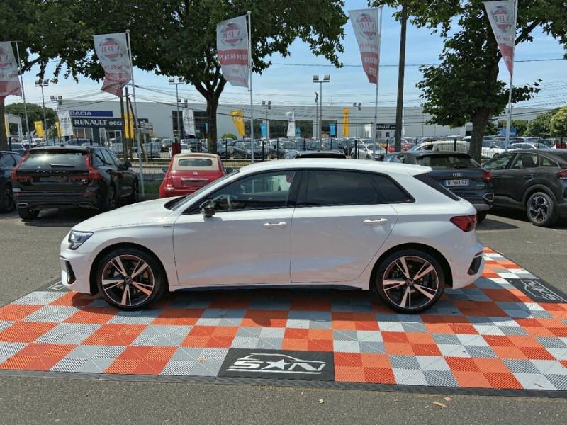Audi A3 Sportback NEW 35 TDi 150 STRONIC SLINE GPS JA18'' Virtual Cockpit Plus Blanc occasion à Toulouse - photo n°6