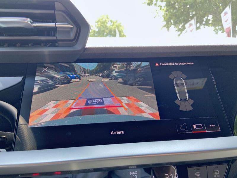 Audi A3 Sportback NEW 35 TDi 150 STRONIC SLINE GPS JA18'' Virtual Cockpit Plus Blanc occasion à Toulouse - photo n°17