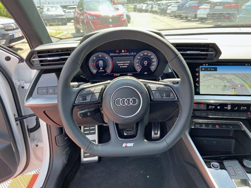 Audi A3 Sportback NEW 35 TDi 150 STRONIC SLINE GPS JA18'' Virtual Cockpit Plus Blanc occasion à Toulouse - photo n°14