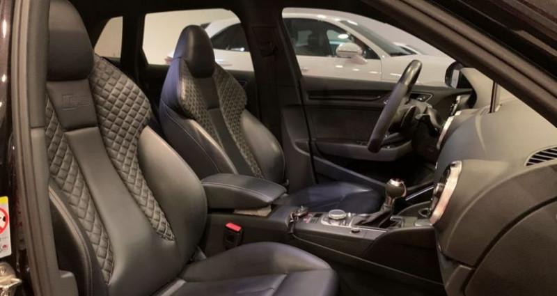 Audi A3 Sportback RS3 2.5 TFSI 500ch ABT Noir occasion à Bastia - photo n°5