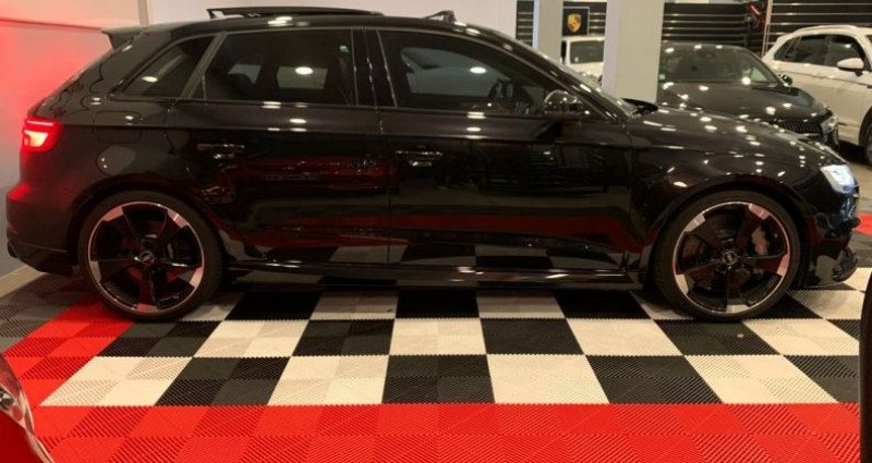 Audi A3 Sportback RS3 2.5 TFSI 500ch ABT Noir occasion à Bastia - photo n°2