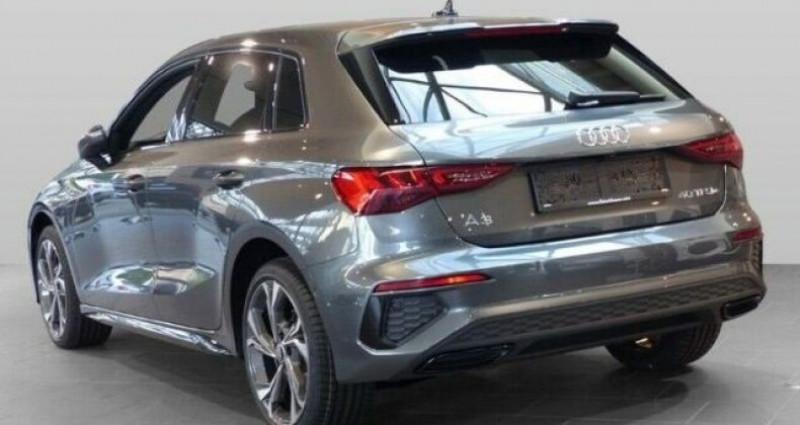 Audi A3 Sportback S line 40 TFSI e 204 CH S-tronic Gris occasion à Mudaison - photo n°4