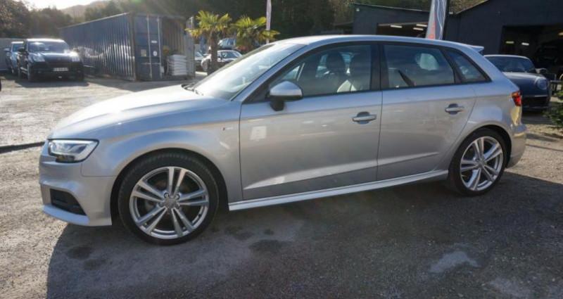 Audi A3 Sportback S line S tronic Gris occasion à Charpont - photo n°3