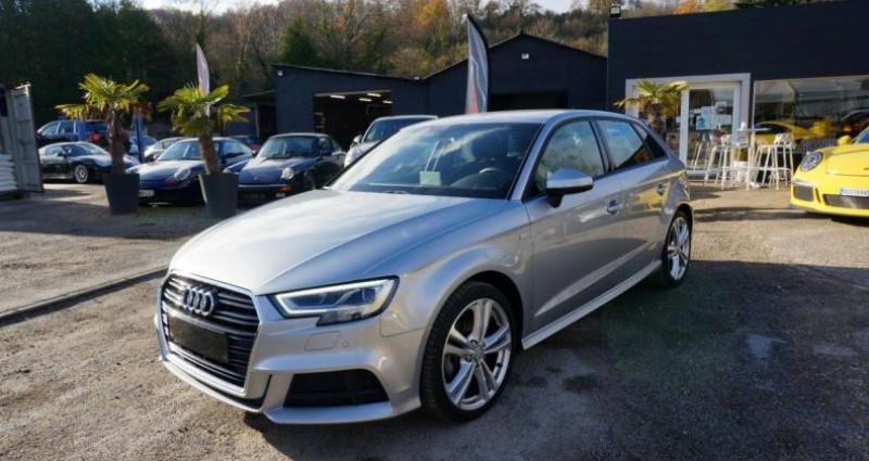 Audi A3 Sportback S line S tronic Gris occasion à Charpont - photo n°2