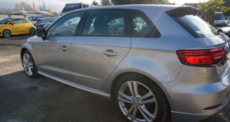 Audi A3 Sportback S line S tronic Gris occasion à Charpont - photo n°4