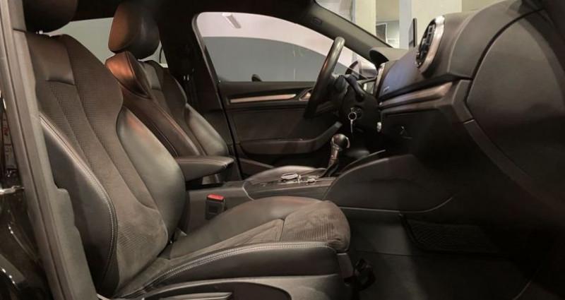 Audi A3 Sportback S3 2.0 TFSI 310ch VIRTUAL COCKPIT Noir occasion à Bastia - photo n°5