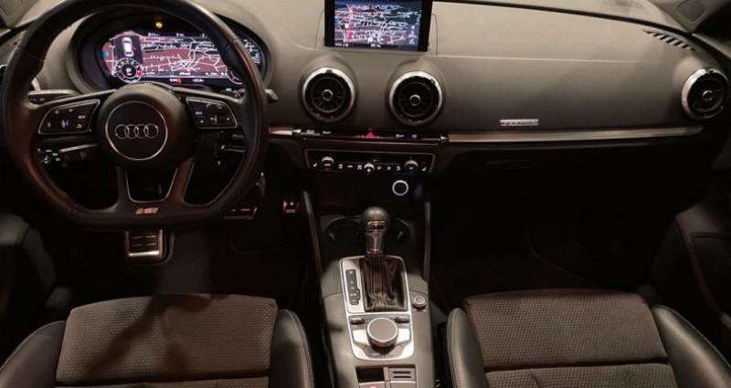 Audi A3 Sportback S3 2.0 TFSI 310ch VIRTUAL COCKPIT Noir occasion à Bastia - photo n°4