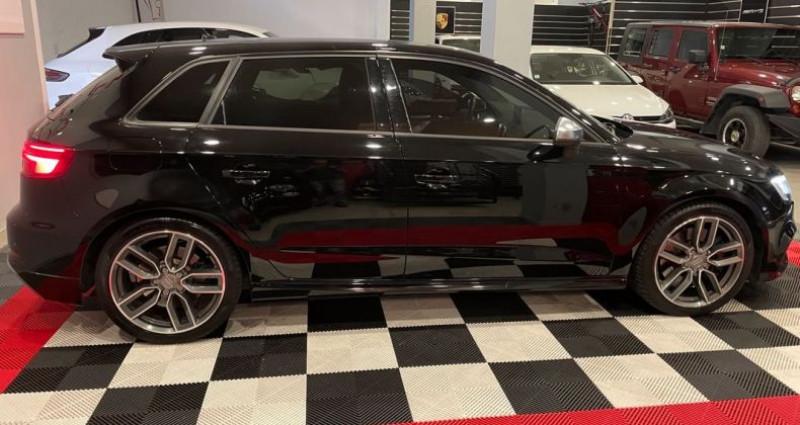 Audi A3 Sportback S3 2.0 TFSI 310ch VIRTUAL COCKPIT Noir occasion à Bastia - photo n°2