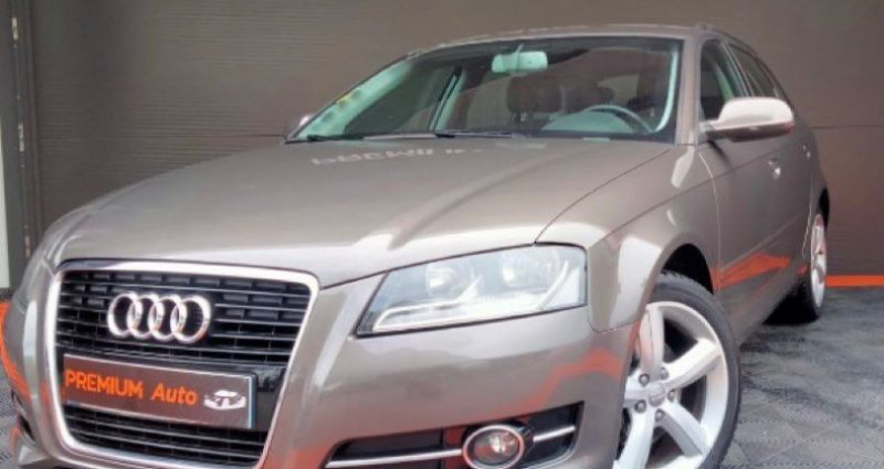 Audi A3 Sportback Série 2 Phase 2 2.0 TDi 16V 140 cv Marron occasion à Francin