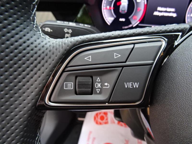 Audi A3 Sportback Sportback 1.5 35 TFSI - 150 S line Noir occasion à Mérignac - photo n°19