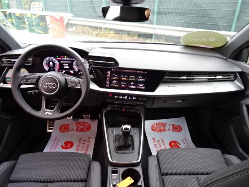 Audi A3 Sportback Sportback 1.5 35 TFSI - 150 S line Noir occasion à Mérignac - photo n°13