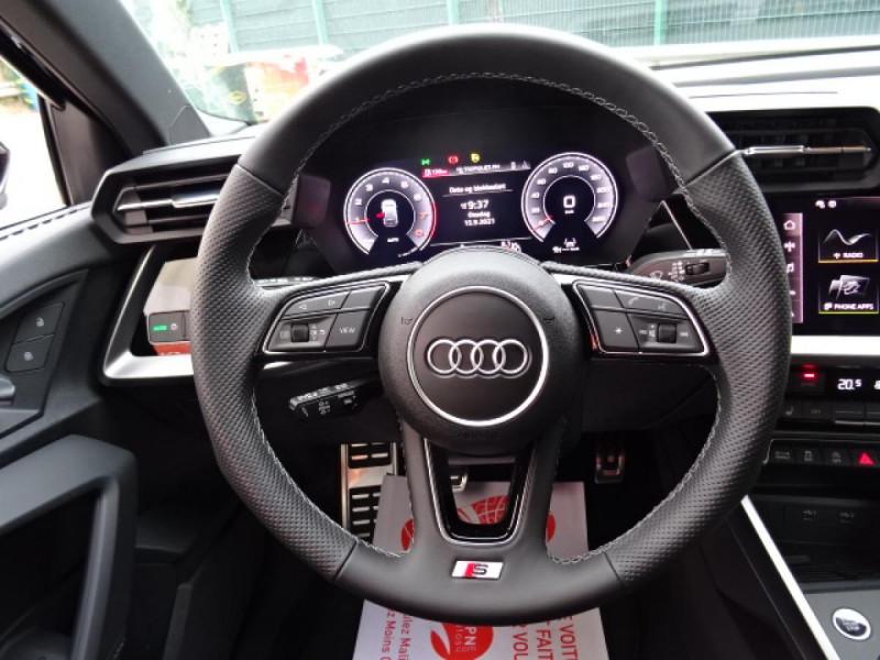 Audi A3 Sportback Sportback 1.5 35 TFSI - 150 S line Noir occasion à Mérignac - photo n°12