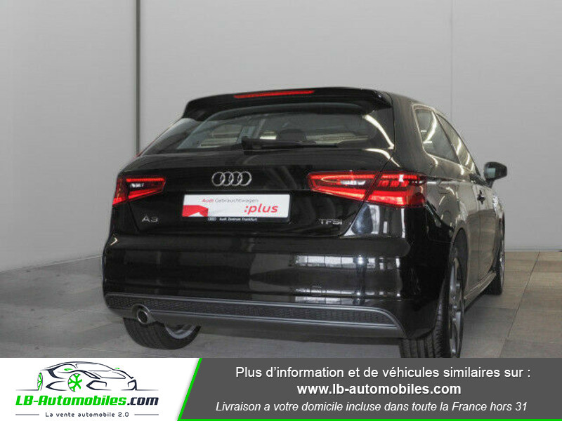 Audi A3 1.2 TFSI 110 Noir occasion à Beaupuy - photo n°3