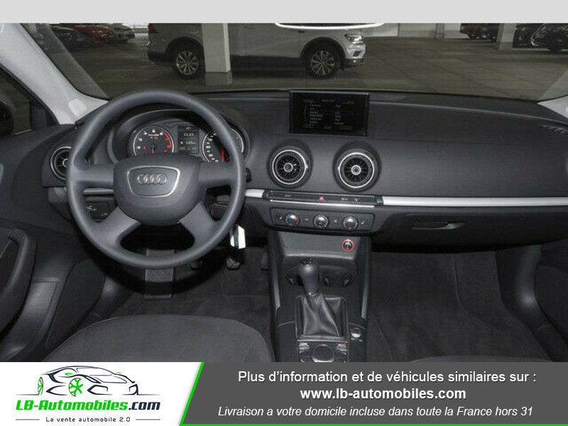 Audi A3 1.2 TFSI 110 Noir occasion à Beaupuy - photo n°2