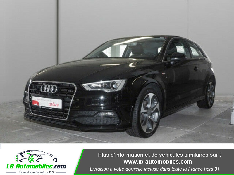 Audi A3 1.2 TFSI 110 Noir occasion à Beaupuy